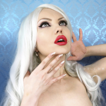 ELENA VLADI - WHITE HAIR GIRL - PLATINUM HAIR1